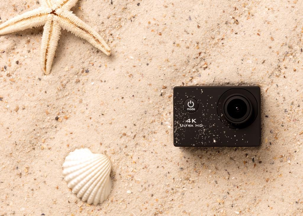 camera HD publicitaire 4K - cadeau d'affaires
