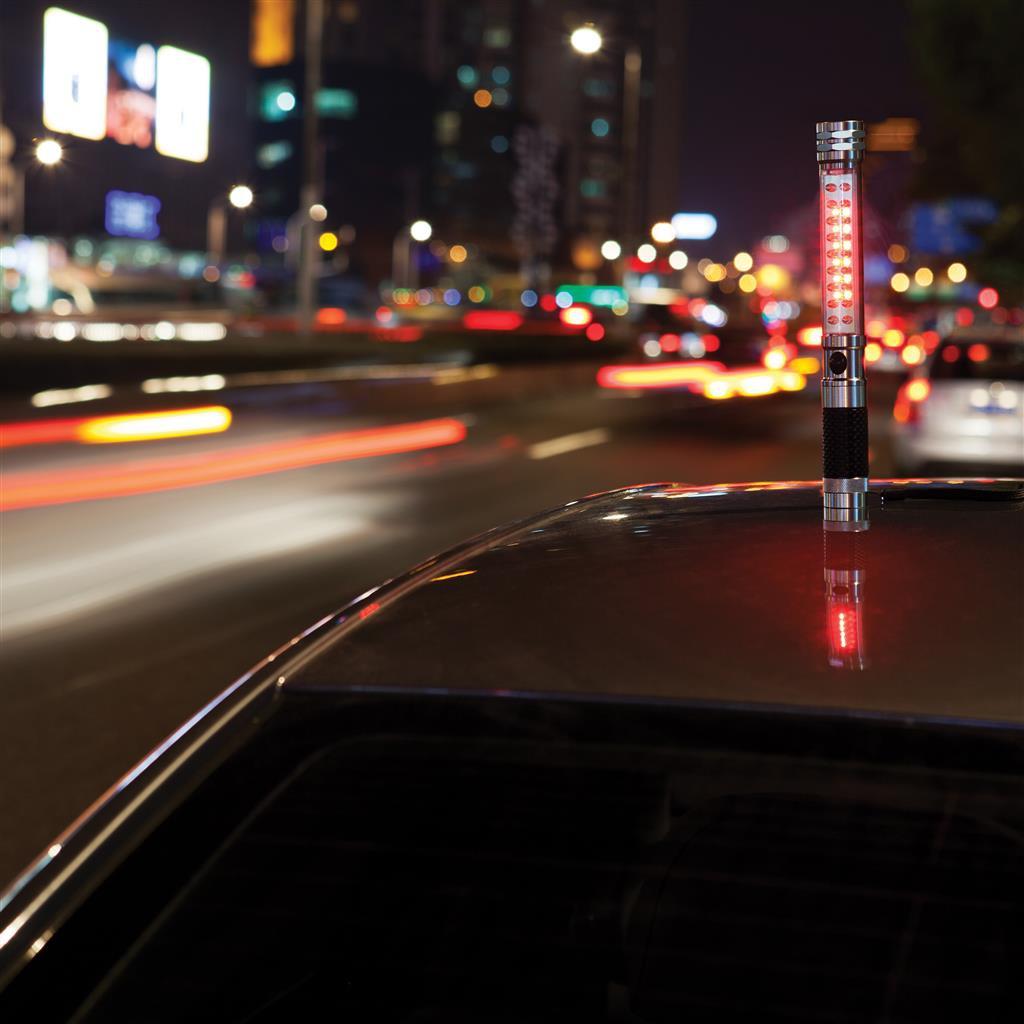 Objet publicitaire sécurité - Lampe torche aimantée à led Top
