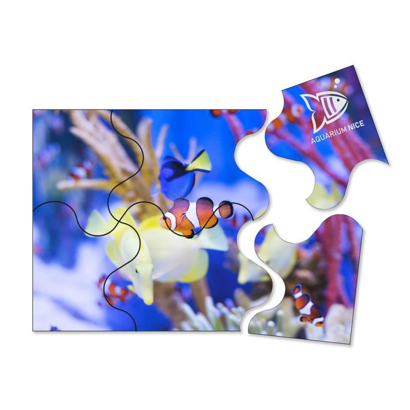 Magnet publicitaire Puzzle 140 x 100 mm - goodies