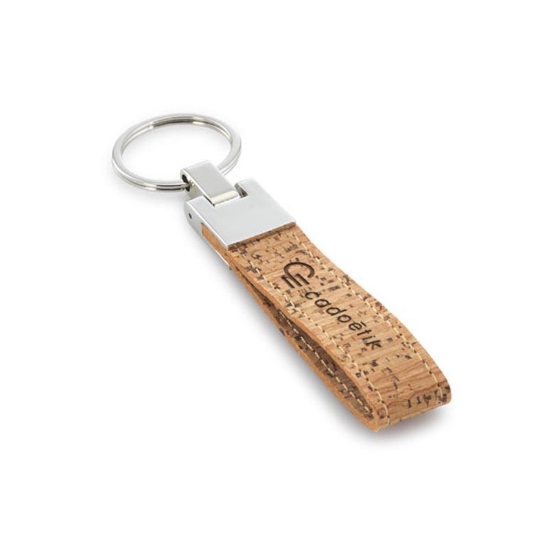 Porte-clés personnalisable écologique Naturaly - goodies écologique