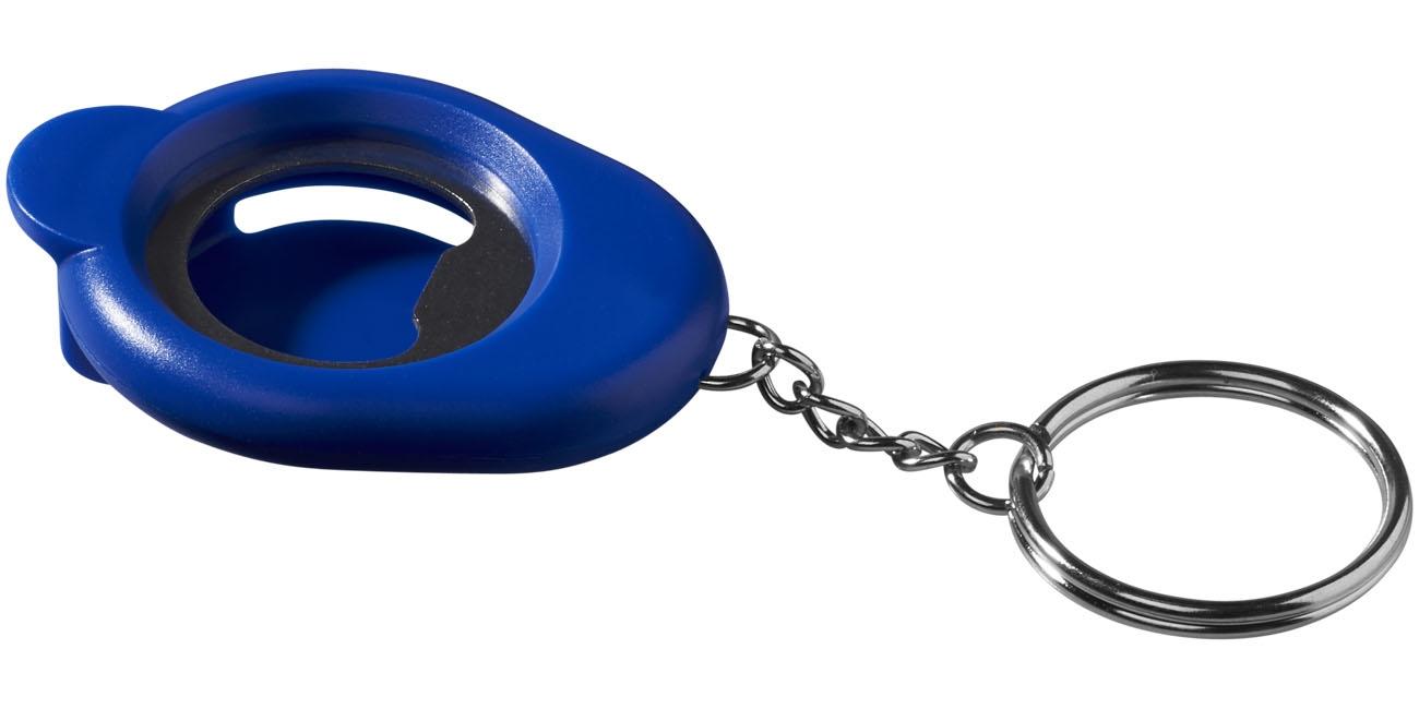 Porte-clés publicitaire décapsuleur Cappi - décapsuleur personnalisé