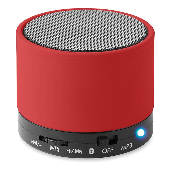 Enceinte publicitaire Bluetooth Roundbass - Objet publicitaire high-tech
