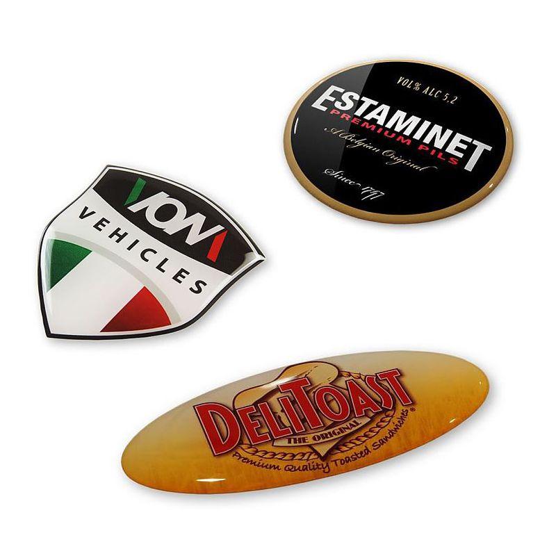 Sticker publicitaire Dom - sticker personnalisable