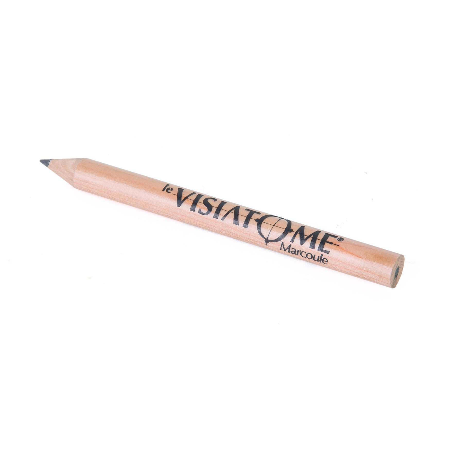 Goodies écologique - Crayon à papier publicitaire Prestige naturel 8,7 cm incolore