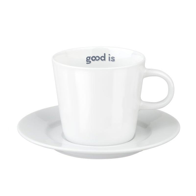 Tasse et soucoupe publicitaires Fancy Espresso