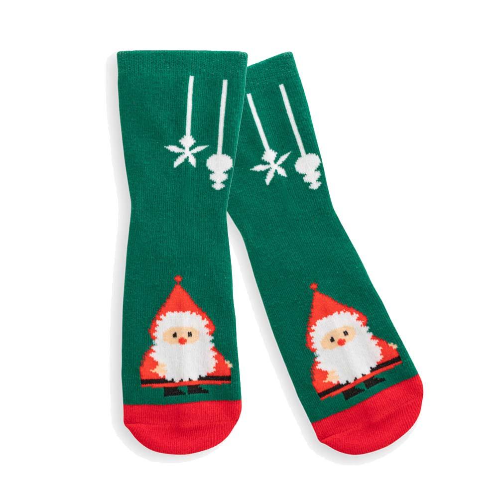 Chaussettes publicitaires pour enfant Santa 5