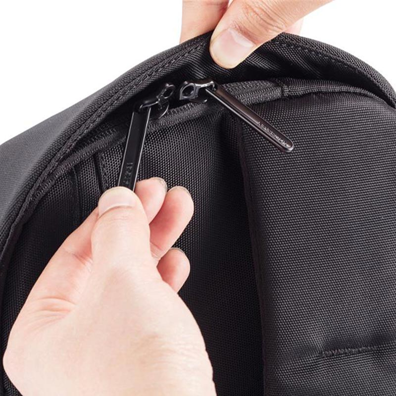 sac publicitaire bobby sling fermeture zip
