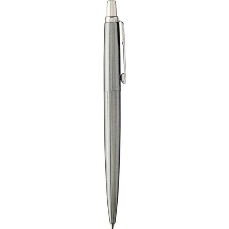 Stylo bille publicitaire Oxford Grey Pintstripe Jotter Parker - stylo personnalisable