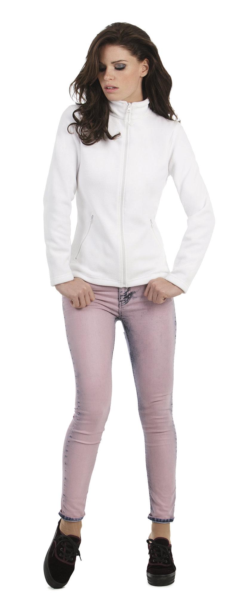 Veste polaire promotionnelle Fleece - cadeau d'entreprise pour femme