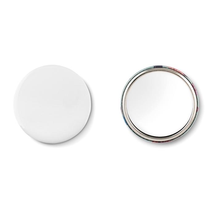 Objet publicitaire - Badge personnalisable miroir Mirror