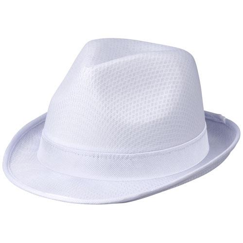 Chapeau publicitaire bleu trilby