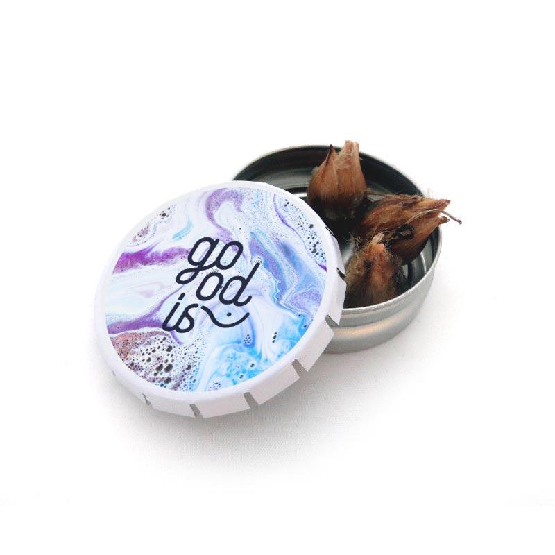 Boîte à graines Clic-clac - Graines publicitaires - Goodies salons