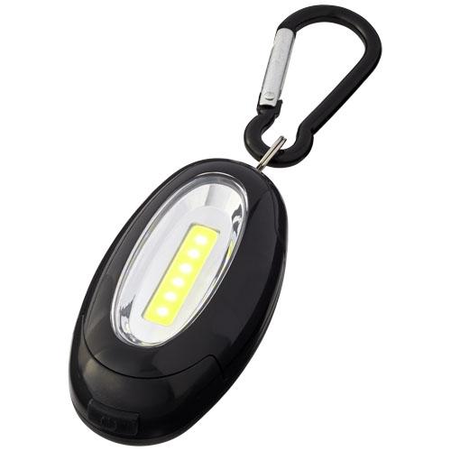 lampe cob publicitaire mousqueton Atria - goodies entreprise