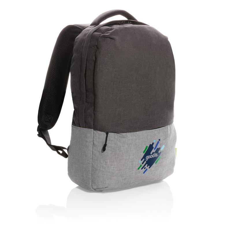 sac à dos publicitaire pour ordinateur Duo Color - cadeau d'entreprise