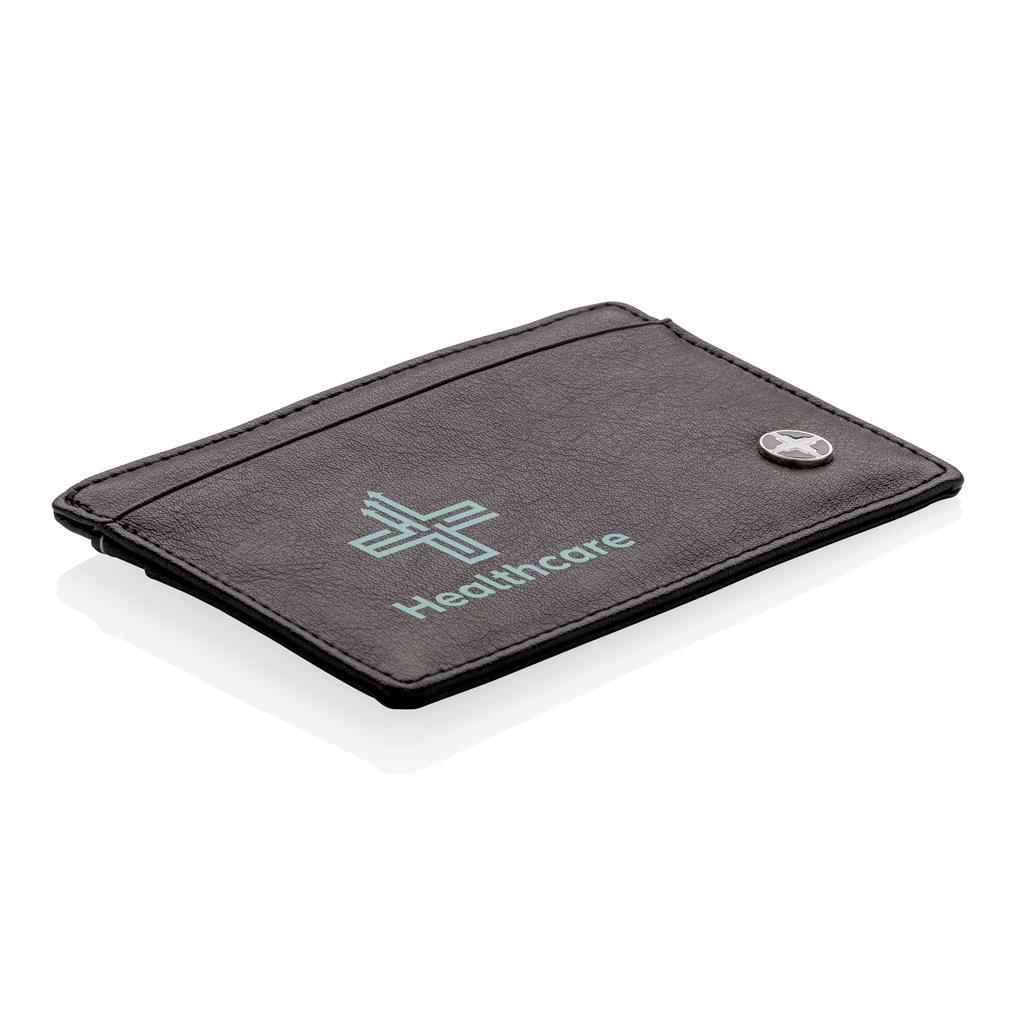 objet publicitaire - Porte-cartes personnalisable RFID Swiss Peak