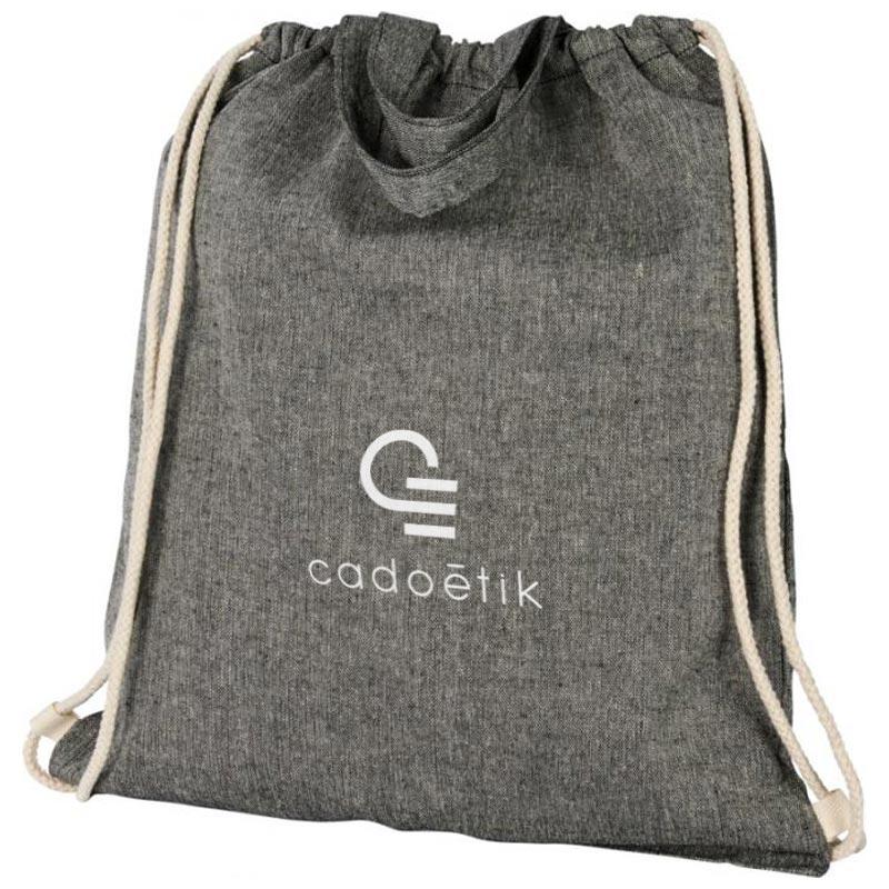 Gym bag et tote bag publicitaire en coton recyclé