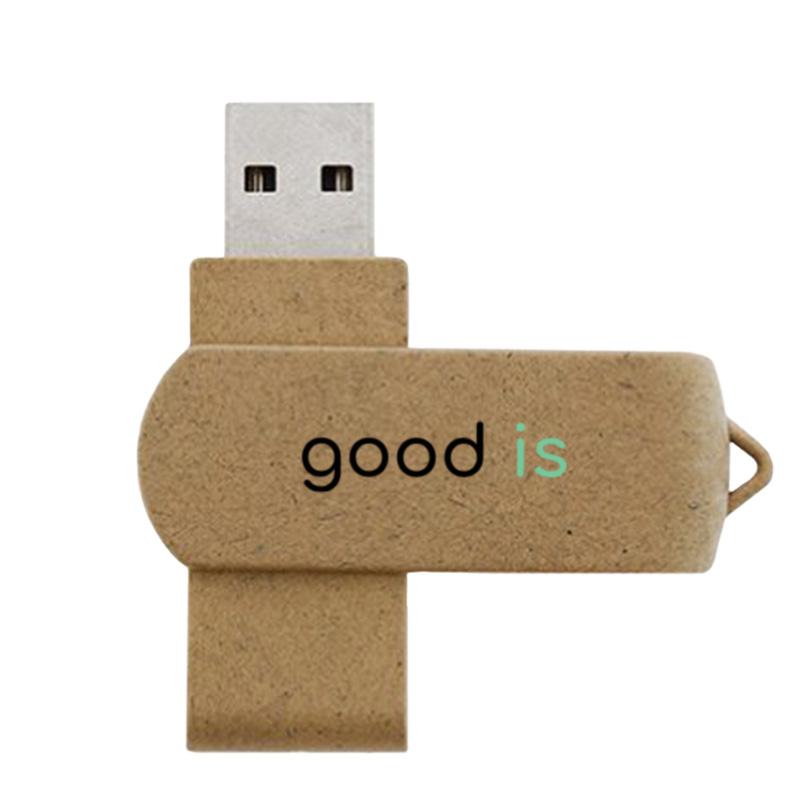 Clé USB personnalisée VG-FULL - goodies écologiques