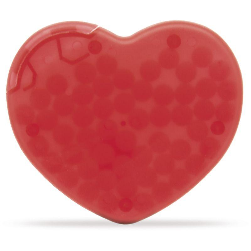 goodies - Boîte de bonbons publicitaire quadri Coeur