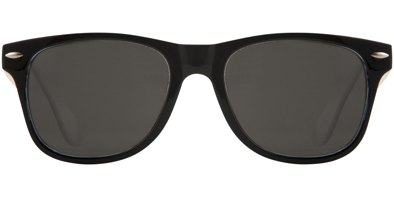 Lunettes de soleil publicitaires Sun Ray - verres sombres - noir