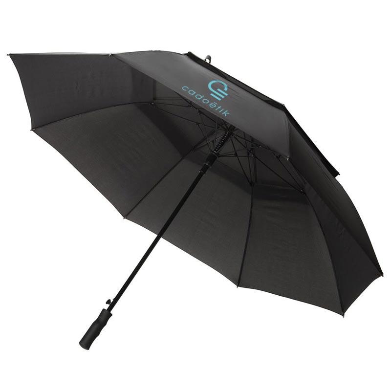"""Parapluie publicitaire tempête 30"""" Swiss Peak Tornado - Cadeau d'entreprise"""