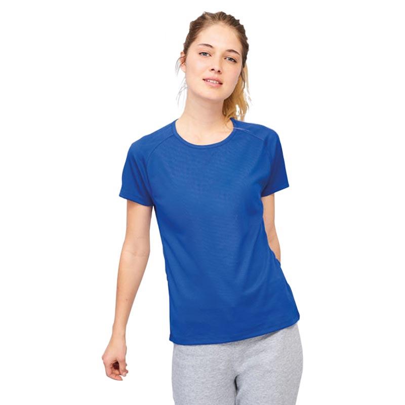 T-shirt publicitaire femme Sporty - Textile promotionnel