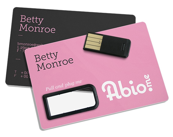 Clé USB publicitaire - P@per, la carte papier USB publicitaire