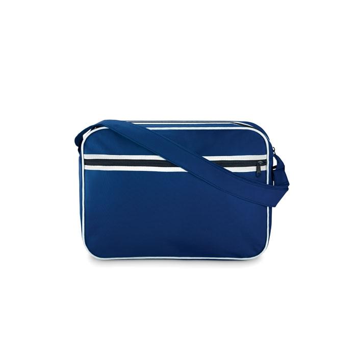 Porte document publicitaire Barcelona - porte-document personnalisable bleu royal