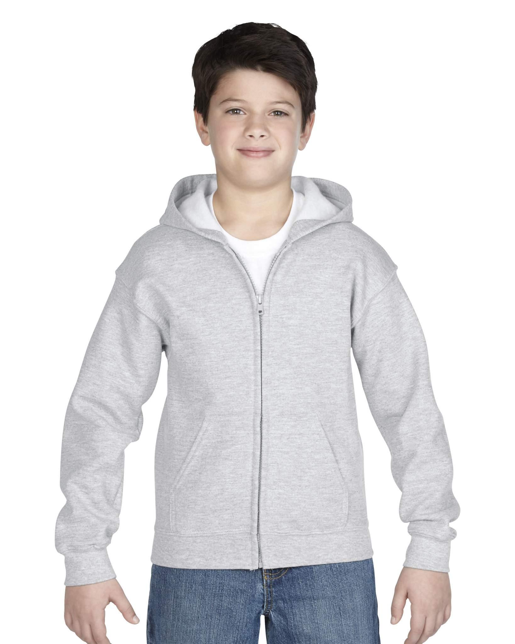 Sweatshirt personnalisable Full Hoody navy enfant - sweatshirt promotionnel