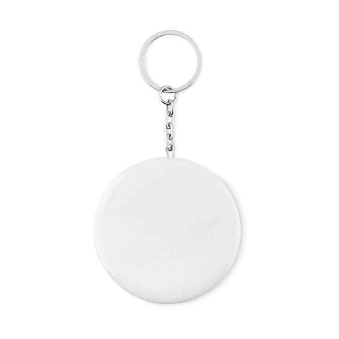Objet promotionel - Décapsuleur porte-clés personnalisé Pin Flask
