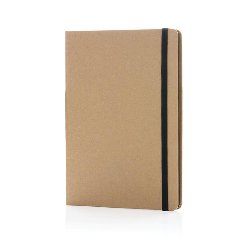 Carnet kraft écologique A5 Cardboard - Goodies green