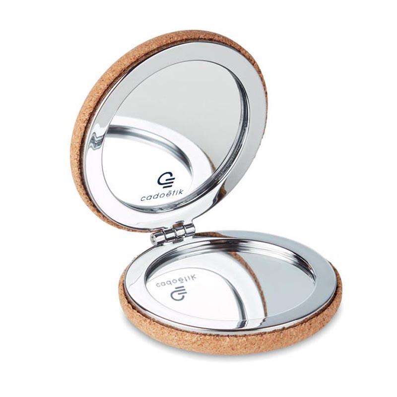 Miroir publicitaire en liège Guapa - Goodies entreprise