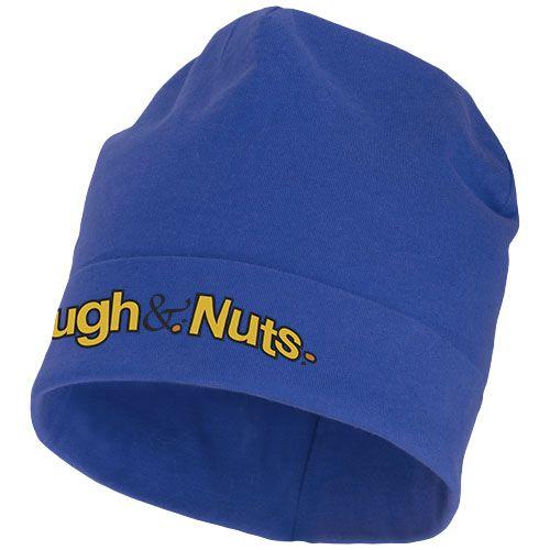 Bonnet personnalisable bleu