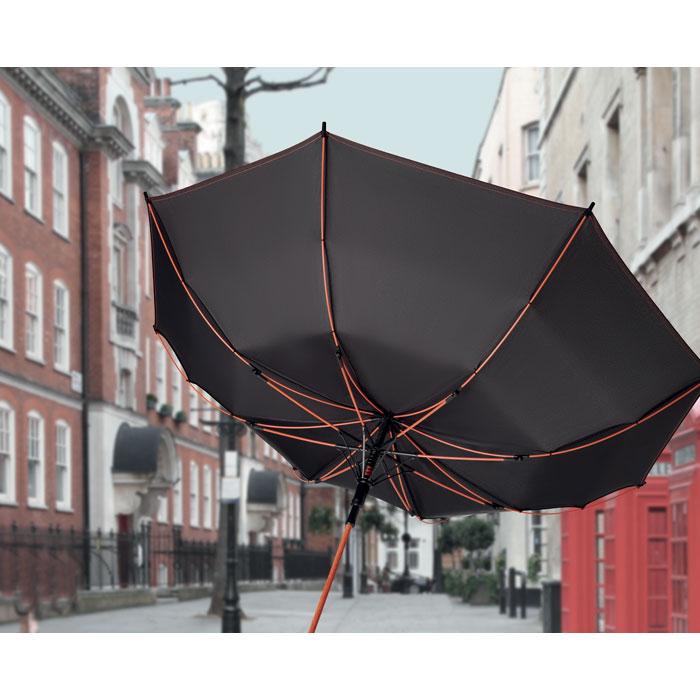 Parapluie publicitaire tempête Skye - jeune