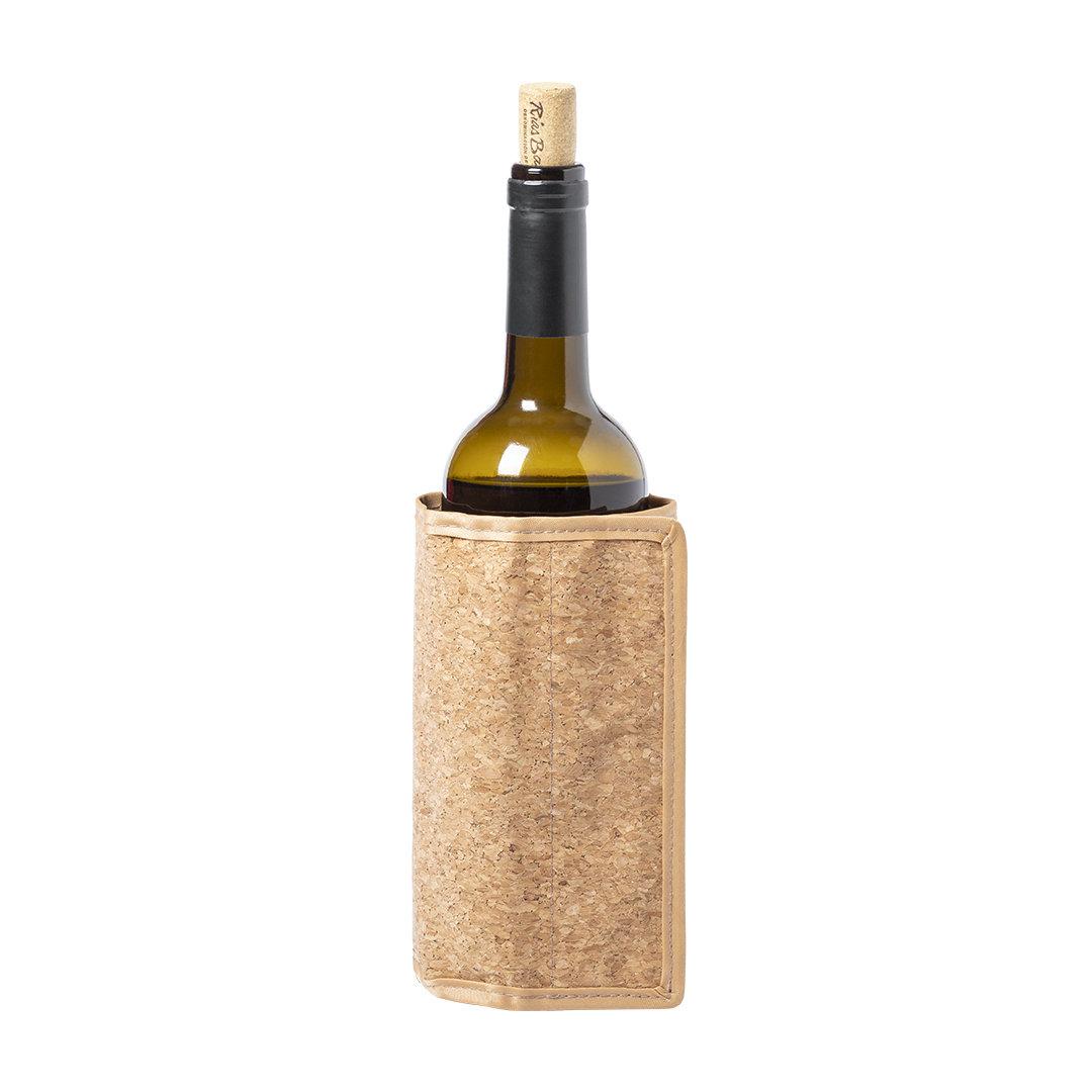 Rafraîchisseur de bouteille publicitaire en liège Vipal 1