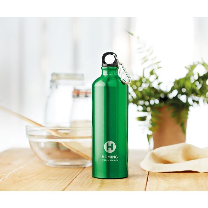 Gourde personnalisée en aluminium 750 ml Big Moss - Cadeau promotionnel