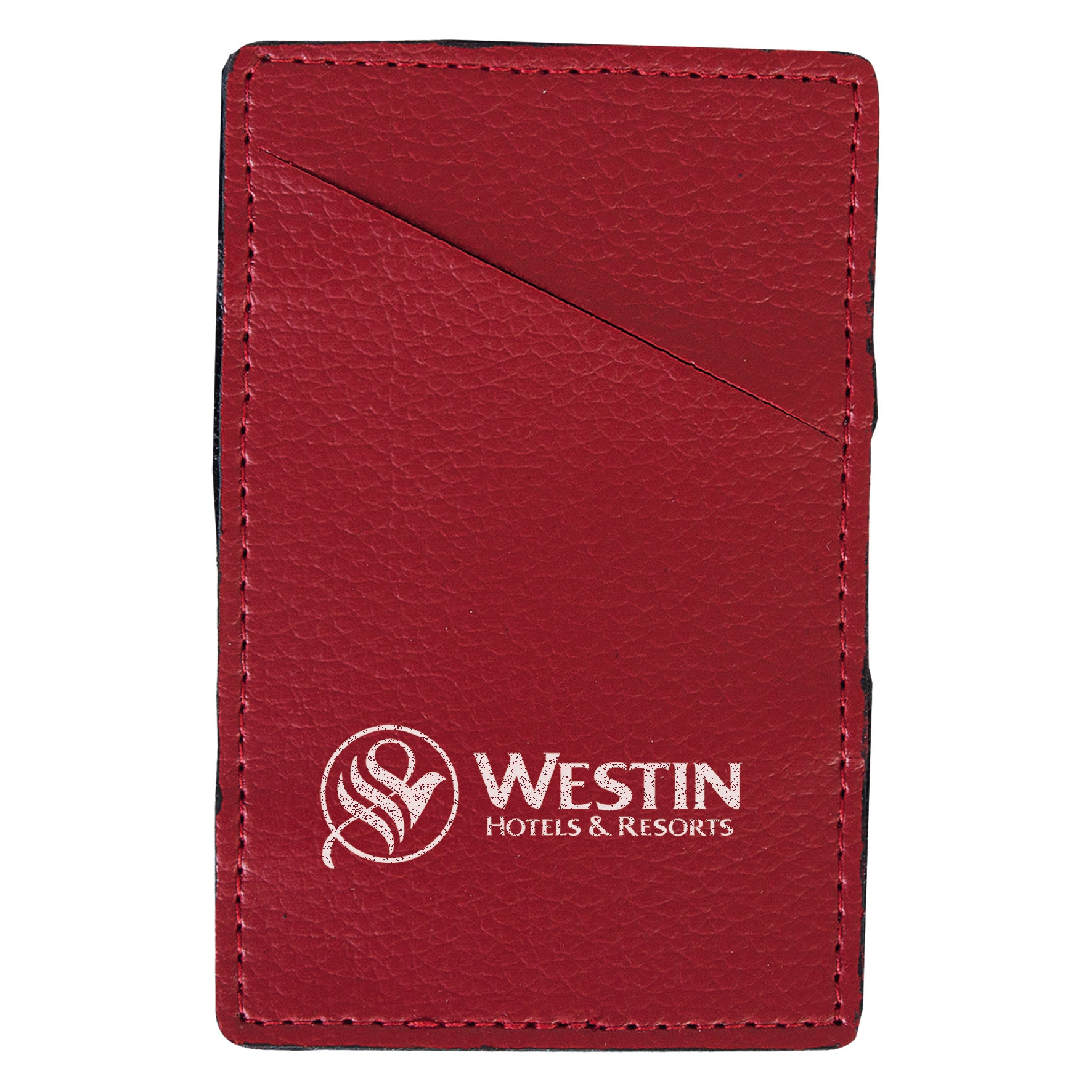 Goodies - Porte-cartes publicitaire Magic - rouge