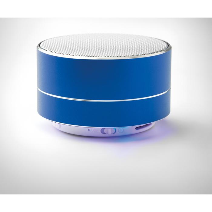 Cadeau publicitaire - Haut-parleur Bluetooth® publicitaire rond Sound