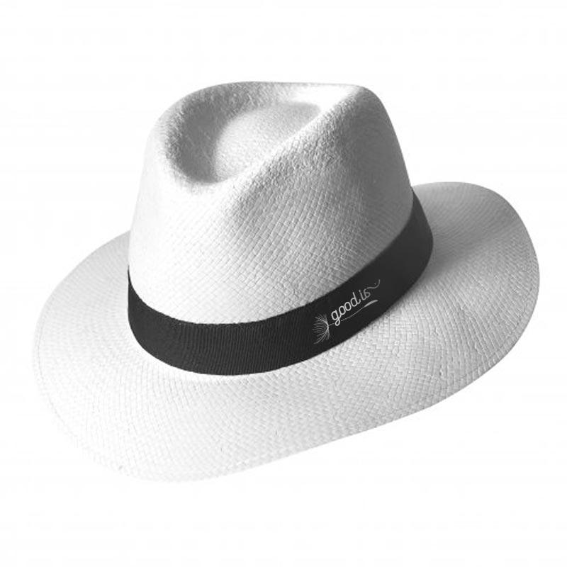 Chapeau PANAMA à personnaliser pour marquage logo
