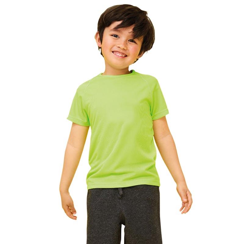 T-shirt publicitaire Sporty taille enfant - Textile publicitaire enfant