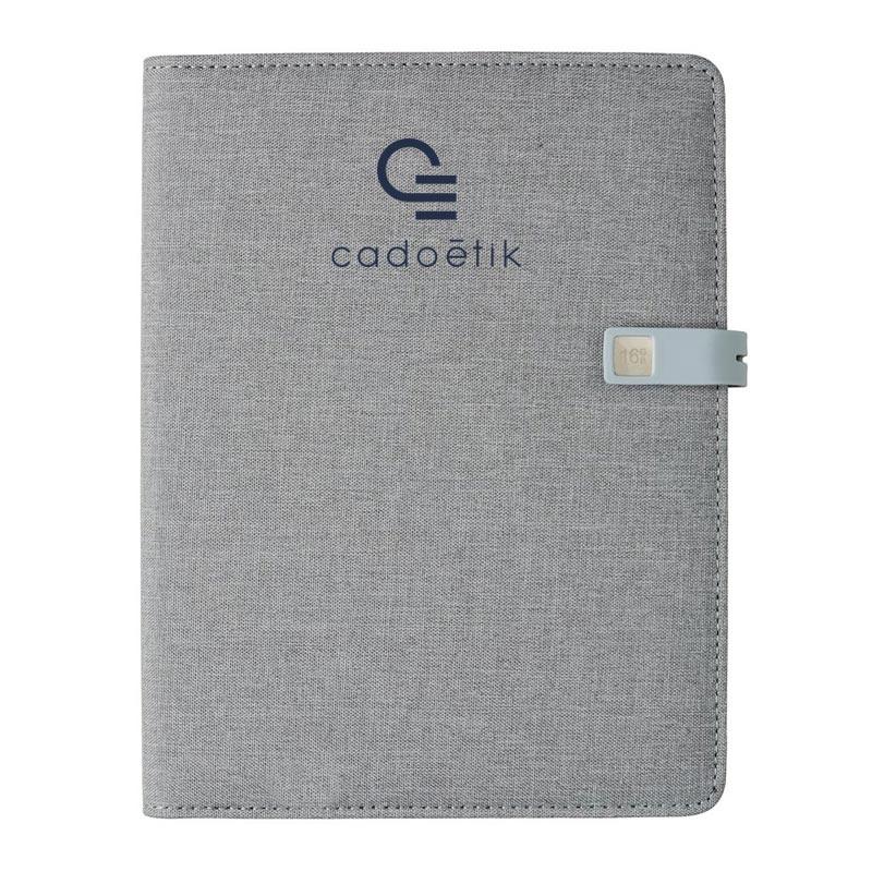 Carnet publicitaire A5 Kyoto clé USB 16Go - carnet personnalisé