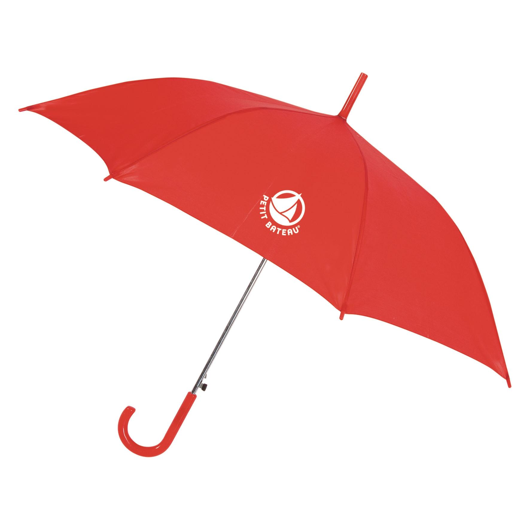 Parapluie publicitaire canne Glav - Parapluie personnalisable - noir