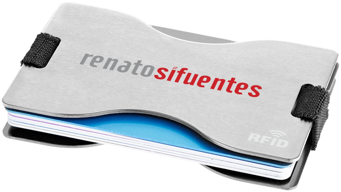 Porte-cartes publicitaire RFID Adventurer - goodies