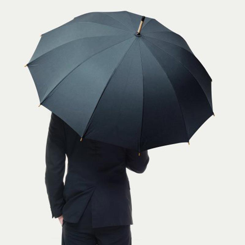 Parapluie ville Chiccity bleu personnalisable