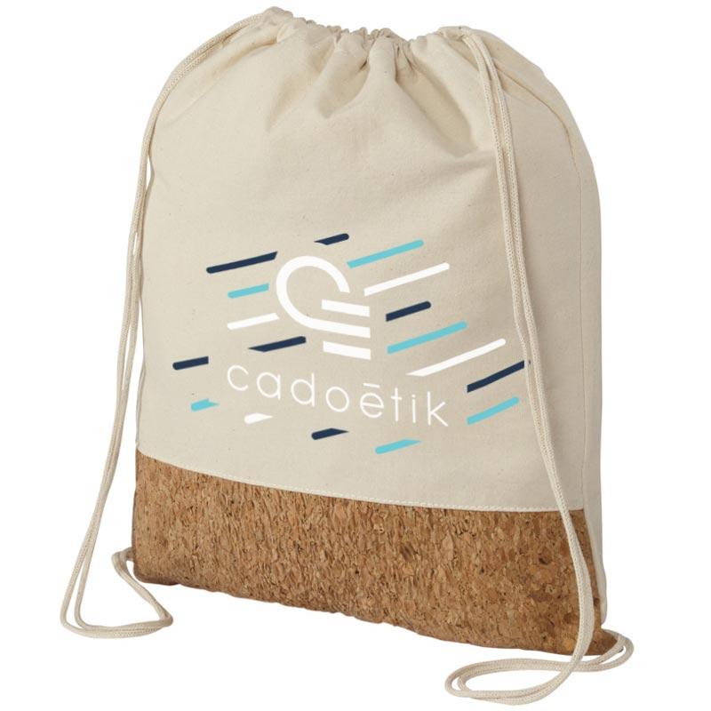 Goodies écologique - Gym bag premium coton et liège