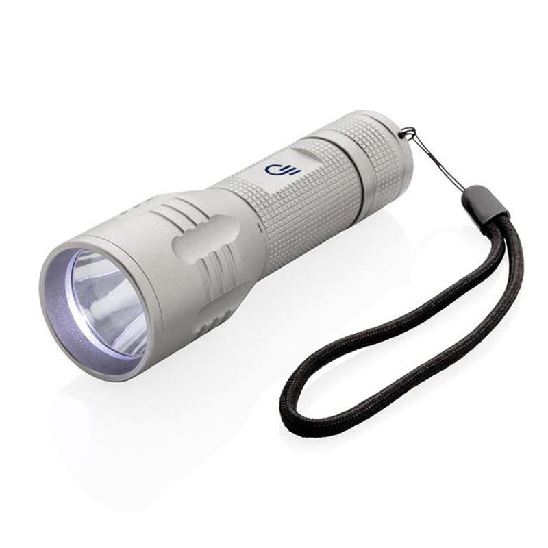 Lampe torche personnalisée CREE 3W Medium - Objet publicitaire