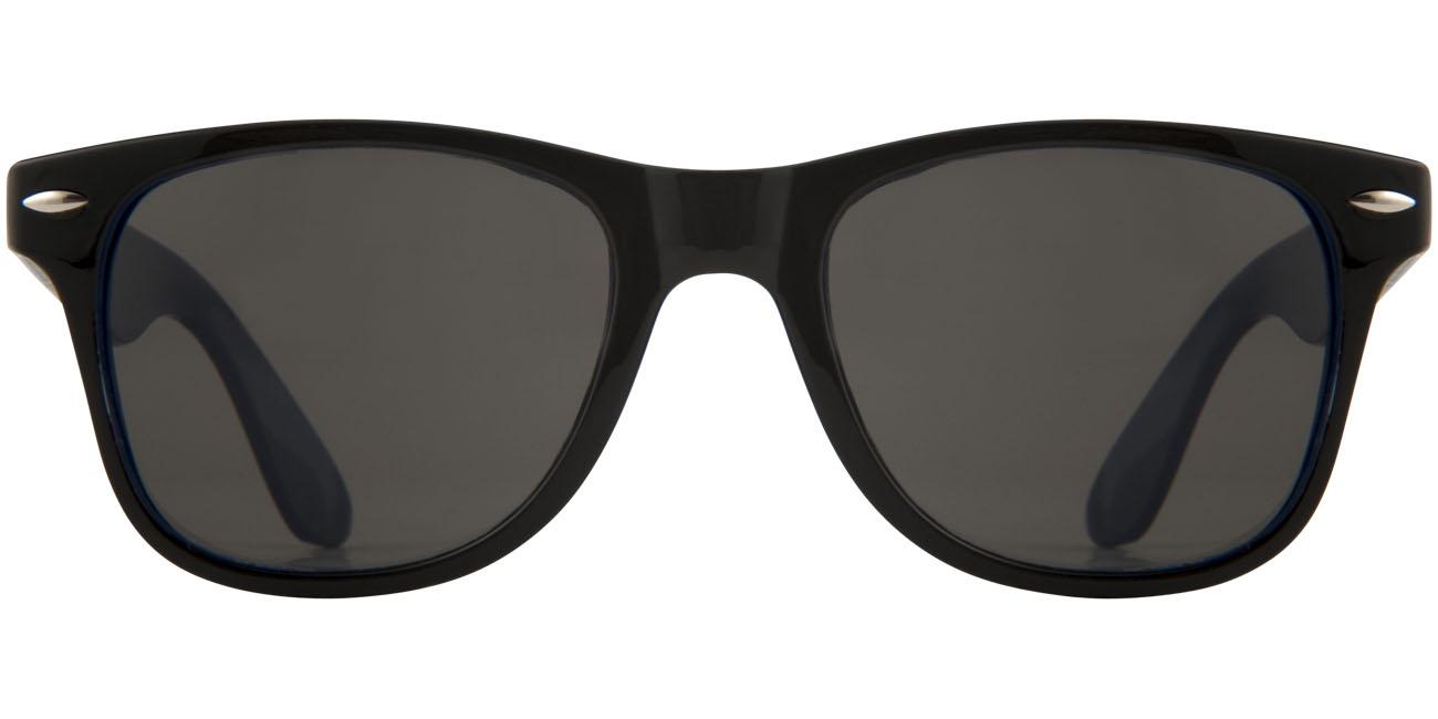 Lunettes de soleil publicitaires Sun Ray - verres sombres - blanc