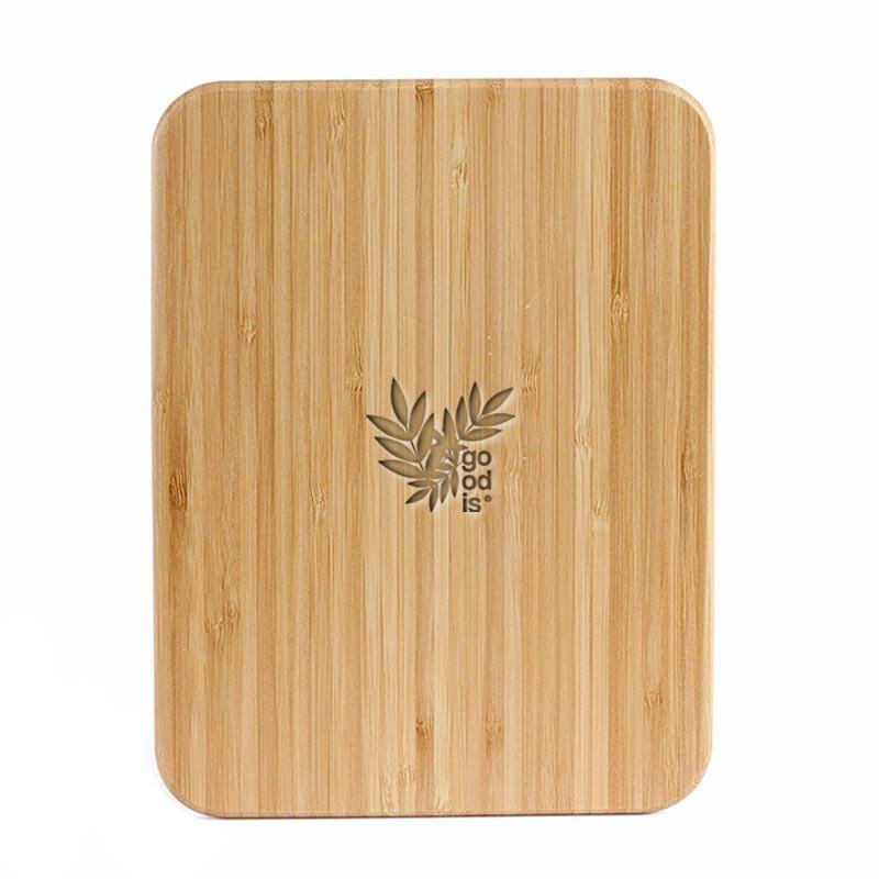 Balance de cuisine personnalisable et planche en bambou Marty
