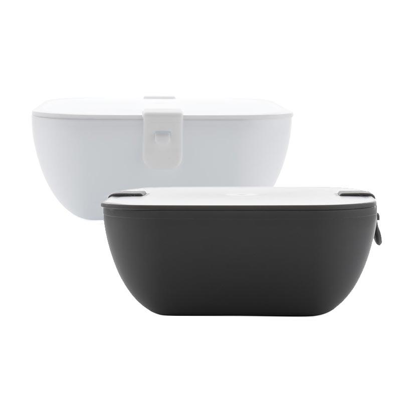 Lunch box publicitaire Siva en noir ou blanc