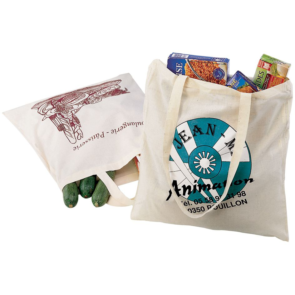 Sac shopping promotionnel écologique Gossy - sac shopping publicitaire