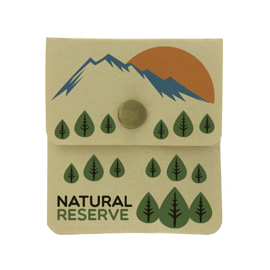 Goodies écologique - cendrier de poche publicitaire kraft Ashtray